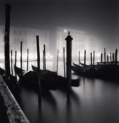 Campo San Vio Viewpoint, Grand Canal, Venice, Italy, 2007. Photographer: Michael Kenna.
