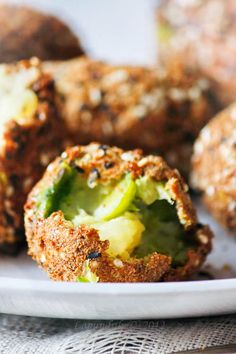 Картофельные крокеты с брюссельской капустой