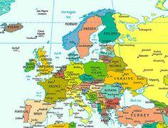 Eastern Europe. Hungary, Czech Republic, Slovakia,Bulgaria ...