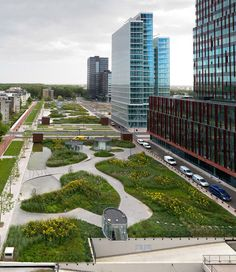 HOLLAND: Green Oasis in a Highly Urban Environment    (I was in that garden this last summer: wonderful!)