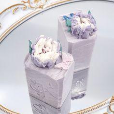 PURPLE PEONY - Artisan Silk Soapbar