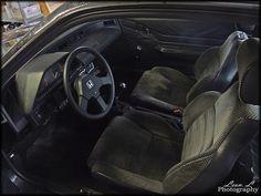1st Gen Honda CRX Interior