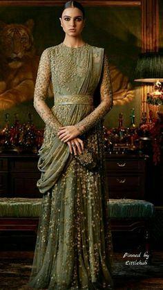 HappyShappy - India's Own Social Commerce Platform Indian Lehenga, Indian Gowns, Indian Attire, Pakistani Dresses, Indian Outfits, Bridal Anarkali Suits, Bridal Sarees, Bridal Dresses, Sabyasachi Gown