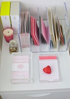 Russell + Hazel note card sets and to-do notes in store now!