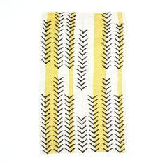 Arrow Stripe Dhurrie Rug | west elm