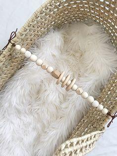 Moses basket heirloom toy