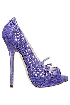 Dior - I could never wear this but it's so cute and purple! I know at least two ladies who would love this! A favorite repin of VIPFashionAustralia.com Visit site to access BUY 1 GET 1 FREE SHOE SALE ON ALREADY DISCOUNTED DESIGNER SHOES!!! ON NOW!
