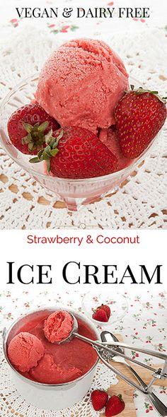 5 minutes ice-cream! So easy and creamy! #vegan #dairyfree #DF #GlutenFree #icecream