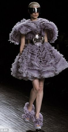 Sarah Burton for Alexander McQueen Autumn/Winter 2012