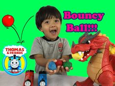 HOW TO MAKE A BOUNCY BALL Easy Science Experiments for kids with Thomas ...