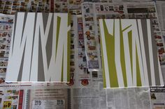 aTypical Day: DIY Abstract Art