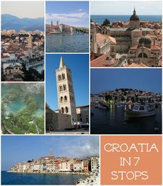 Around Croatia in 7 Stops - possible itinerary for our trip in May!