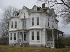 Victorian house, Brookfield MA