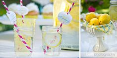 Cute stripe straws