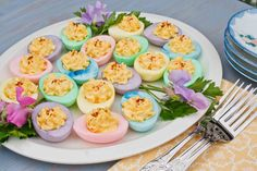 Easter Eggs-Deviled Eggs!