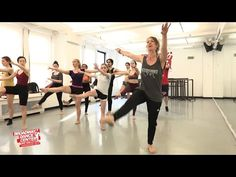 Beginner JUMPS & TURNS w/ Shelly Hutchinson | BROADWAY DANCE CENTER #bdcnyc - YouTube