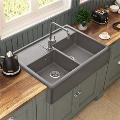 1000 id es sur le th me granit gris sur pinterest granite cuisine en granit et comptoirs en - Evier granit de design moderne par schock ...