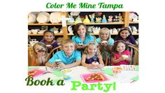 Create something and save 15% at Color Me Mine Tampa   #usfg #spon #colormemine #create #creative #painting #ceramics