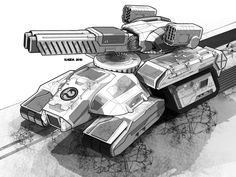 This is where you can track the creation of a fan-made BattleTech Technical…