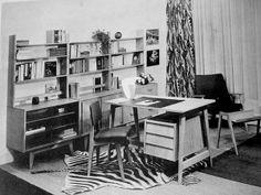 Mid Century Interior by VintageandMain