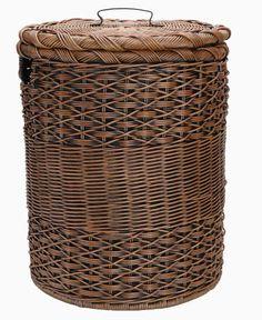 basket laundry hamper | Wicker Laundry Baskets with Lids
