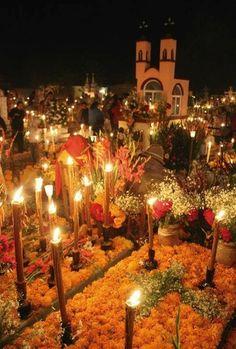 día de muertos,San Andrés Mixquic, CDMX.