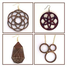 Hot Product: Orno Jewelry, Wooden Whorls To Wear