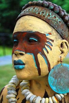 Image result for tribe painted eye