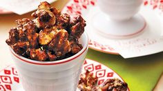 These simple sweet and spicy glazed walnuts are an easy holiday snack for you or your guests. They make great gifts, too!