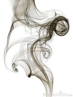 Abstract blue smoke on white background - Tattoo Style Smoke Drawing, Smoke Painting, Smoke Art, Projector Photography, Smoke Photography, Rauch Tattoo, Swirl Tattoo, Rauch Fotografie, Abstrakt Tattoo