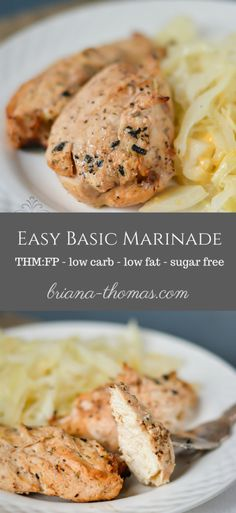 Easy Basic Marinade (THM:FP, low carb, low fat, sugar free)