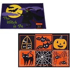 2 Pack Halloween Decor Printed Accent Rugs 20 x 30 Witch ... https://www.amazon.com/dp/B01ES2QX56/ref=cm_sw_r_pi_dp_a2gFxb4FV1RE2