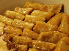 Romanian Sarmale ( Pickled Cabbage Rolls ) is one of my favorite dishes. Here we go: Ingredients 1 cup long grain rice 1 Lb ground po. I Love Food, Good Food, Yummy Food, Healthy Food, Ukrainian Recipes, Romanian Recipes, Ukrainian Food, Turkish Recipes, Recipes