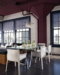 San Francisco Downtown Loft - modern - dining room - san francisco - Applegate Tran Interiors