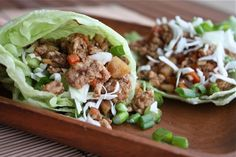 5 Spice Asian Turkey Lettuce Wraps.