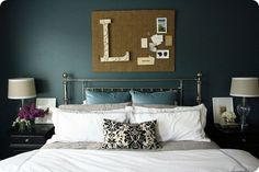 Love this wall color.... (via Oak Ridge Revival)