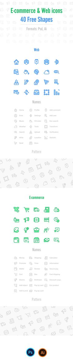 40 Free Icons (Psd, Ai) on Behance