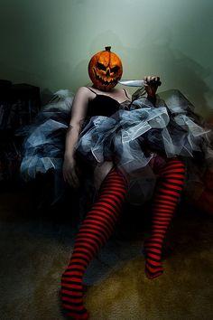 I like to keep my Halloween costumes simple... yet, terrifying.  ~~  Houston Foodlovers Book Club