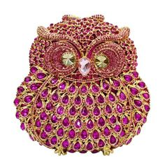 Animal Braccialini Owl Women Bags Pochette Handmade Prom Clutch Evening Bags Luxury Party Bags Crystal_2     https://www.lacekingdom.com/