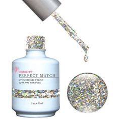 LECHAT Perfect Match Gel Polish   Matching Nail Lacquer, Halogram diamond, 0.500 Ounce -- Find out more about the great product at the image link. (This is an affiliate link and I receive a commission for the sales) #FootHandNailCare