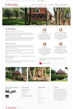 WordPress site foarhus.nl uses the The7.2 wp theme