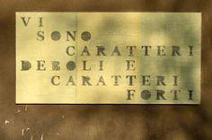 "Moreno Tuttobene, Ficciones Typografika 337-339 (24""x36""). Installed on April 1, 2014. More: http://ficciones-typografika.tumblr.com/"