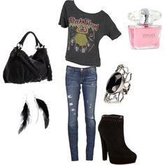 rocker outfit!