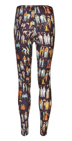 The Love Wins Leggings - The 1980s by BOB #fashion #print
