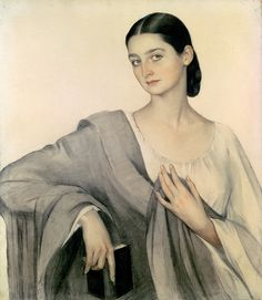 /\ /\ . Portrait of Countess Eliso Dadiani Savelij Abramovich Sorin
