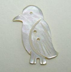 Love this!!! Vintage Penguin Button