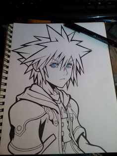 Sora :3  I have a friend who could definitely draw this