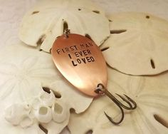 First Man I ever loved coppersilver by ReLightDesigns on Etsy