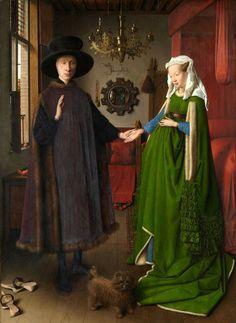 Jan van Eyck The Arnolfini portrait, 1434(748×1024)