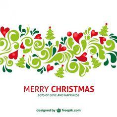Artístico feliz natal